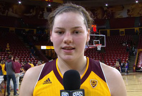 ASU's Sophie Brunner on winning rivalry game: 'It means a lot for our whole school'