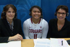 Washington State's Chanelle Molina on her record-setting night: 'We played off adrenaline'