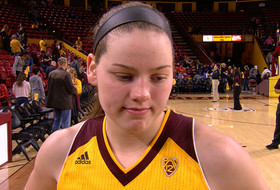 ASU women's basketball's Sophie Brunner on guaranteeing win over rival: 'This is a step in the right direction'