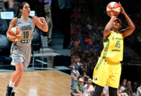 Kelsey Plum and Shay Murphy on WNBA Opening Day rosters