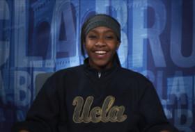 Video: UCLA's Hallie Mossett talks Pac-12 award, sings Beyonce