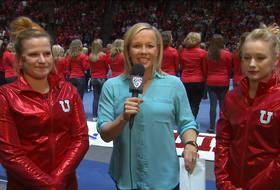 Georgia Dabritz and Tory Wilson discuss perfect 10s for Utah gymnastics