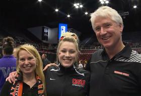 2017 Pac-12 Women's Gymnastics Championship: Oregon State's Madeline Gardiner named Scholar Athlete of the Year