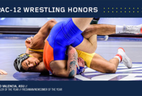 Pac-12 Announces Wrestling Honors