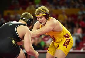 Arizona State wrestling Chace Eskam