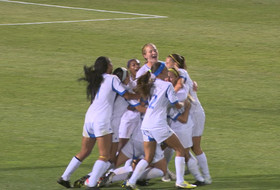 <p>UCLA women's soccer beats Stanford in double over time.</p>