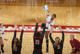 <p>Washington State women's volleyball Kyra Holt</p>