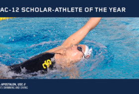 USC's Anika Apostalon named women's swimming and diving scholar-athlete of the year