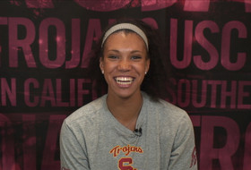 Video: USC's Ebony Nwanebu claims third weekly honor of the season