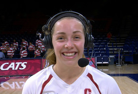 Stanford's Morgan Hentz on upperclassmen: 'Because of them, we feel comfortable on the court'