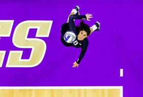 Strickland Selected As Volleyball Senior CLASS Award Winner