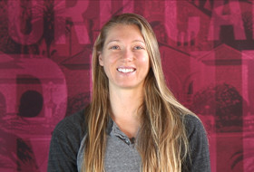 Video: Stanford's Carly Wopat named Pac-12 offensive player of the week