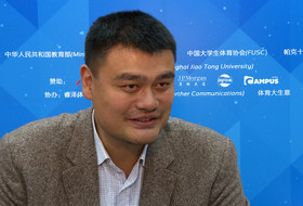 Yao Ming optimistic on the opportunities for Pac-12, Chinese student-athletes