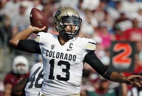 "<p>Colorado need to Spruce things up to get their first victory of the season, so, naturally, <a href=""http://pac-12.com/article/2014/09/06/colorado-football-liufau-spruce-connection"" target=""_blank"">they turned to Nelson Spruce. Turned out to be a good decision</a>. <span style=""line-height: 1.6em;"">Spruce's 70-yard touchdown grab put Colorado up 34-31, and the ever-improving Buffs never trailed again in notching their </span><a href=""http://pac-12.com/football/event/2014/09/06/colorado-massachusetts"" style=""line-height: 1.6em;"" target=""_blank"">first win of the season Saturday.</a><span style=""line-height: 1.6em;""> </span><span style=""line-height: 1.6em;"">Spruce, tasked with replacing all-everything receiver Paul Richardson, has 145 yards and four touchdowns through two games for </span><a href=""http://pac-12.com/team/colorado-football"" style=""line-height: 1.6em;"" target=""_blank"">Colorado, who showed toughness and resiliency in getting the win</a><span style=""line-height: 1.6em;"">. </span><span style=""line-height: 1.6em;"">The task gets considerably tougher now, as the </span><a href=""http://pac-12.com/football/event/2014/09/13/arizona-state-colorado"" style=""line-height: 1.6em;"" target=""_blank"">Sun Devils make their way to Boulder <span data-term=""goog_1168131780"">next Saturday</span>.</a></p>"