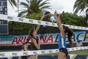 USC vs. UCLA Pac-12 Beach Volleyball Championship match