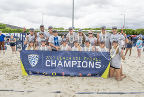 2017 Pac-12 Beach Volleyball Champion - USC