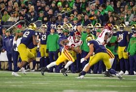 Visual Recap: USC's Comeback Falls Short in South Bend