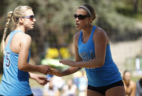 UCLA's Julie Consani and Laurel Weaver