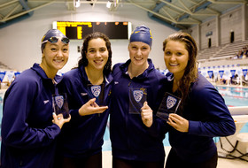Pac-12 Women's Swimming Championships day 1: Stanford, Cal split pair of relays