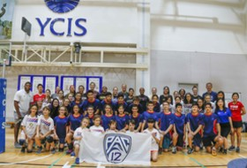 Pac-12 Volleyball All-Star team hosts youth clinic in Shanghai