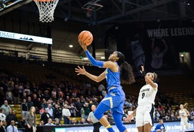 Highlight: Jordin Canada breaks UCLA's all-time assists record in win over Colorado