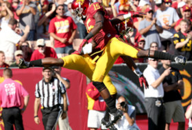 Nelson Agholor sets career high in USC blowout of Colorado