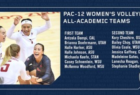 Pac-12 Announces Women's Volleyball All-Academic Teams