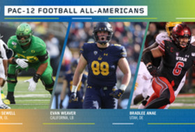Sewell, Weaver, and Anae lead Pac-12 Football All-America selections
