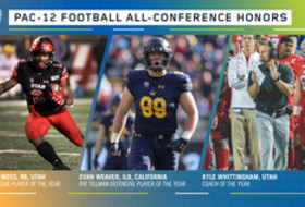 Pac-12 Football All-Conference honors announced