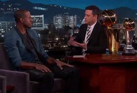Andre Iguodala talks NBA title, Finals MVP on Jimmy Kimmel Live
