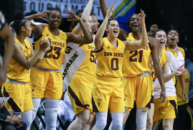 2019 Pac-12 Women's Basketball Tournament: Courtney Ekmark's big second half lifts fifth-seeded Arizona State past No. 12 seed Colorado in round one