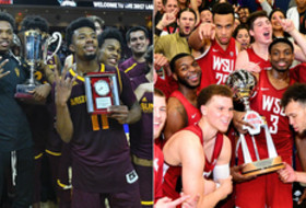 Arizona State Washington State 2017 men's basketball titles