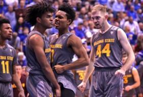 Arizona State upsets Kansas Dec. 10, 2017