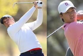 NCAA Men's Golf Regionals: Arizona's George Cunningham, Stanford's Brandon Wu sit atop leaderboards