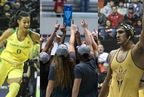 Roundup: Oregon women's basketball, Arizona State wrestling and Stanford women's swimming and diving win Pac-12 titles