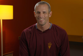 Q&A: Arizona State assistant coach Ben Greenspan recounts first time he saw Hunter Bishop, the junior's breakout season in Tempe