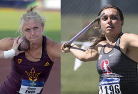 Two individual titles highlight Day 1 of NCAA Women's Outdoor Track & Field Championships action