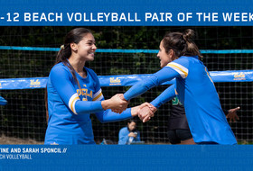 Pac-12 Beach Volleyball Pair of the Week for Feb. 26, 2019 - Lily Justine and Sarah Sponcil, UCLA
