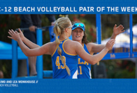 UCLA Pair of the Week Savvy Simo and Lea Monkhouse