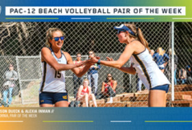 Pac-12 Beach Volleyball Pair of the Week 3/3/20