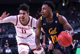 2020 Pac-12 Men's Basketball Tournament: Austin, Bradley put up 18 points each as 10-seed Cal defeats 7-seed Stanford 63-51