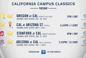 """""""Pac-12 Campus Classics"""" continue this week, with favorites from California and Utah to air on Pac-12 Network"""