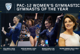 UCLA's Ross, Ohashi, Kondos Field and Cal's Milan land this year's Pac-12 Championships honors