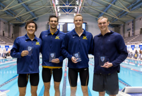 Day 1 — 2020 Pac-12 Men's Swimming Championships