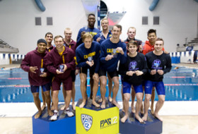 California takes the lead at Pac-12 Men's Swimming Championship
