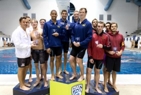 California sweeps day one of Pac-12 Men's Swimming Championship