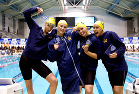 2019 Pac-12 Swimming (W) & Diving (M/W) Championships: Cal goes wire-to-wire to win the 800 freestyle relay title