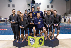 Cal sweeps the relays in Day 1 of the Pac-12 Men's Swimming Championships