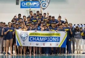 2020 Pac-12 Men's Swimming Championships: Cal celebrates third straight title after winning 5 of 6 events on final day