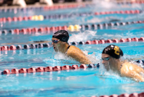 Stanford leads after Day 3 of competition at Pac-12 Women's Swimming and Diving Championships